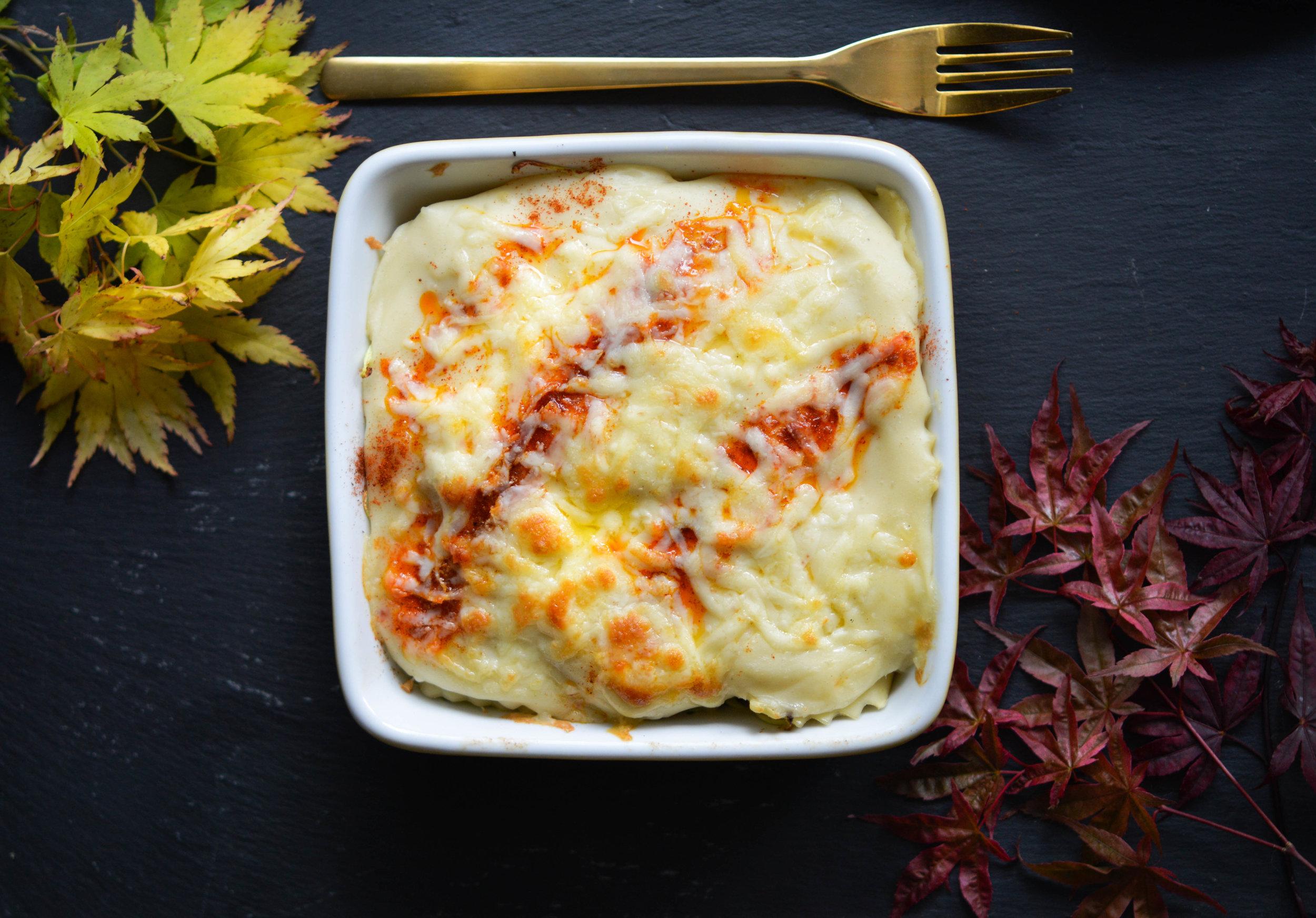 Vegetable Ravioli Bake