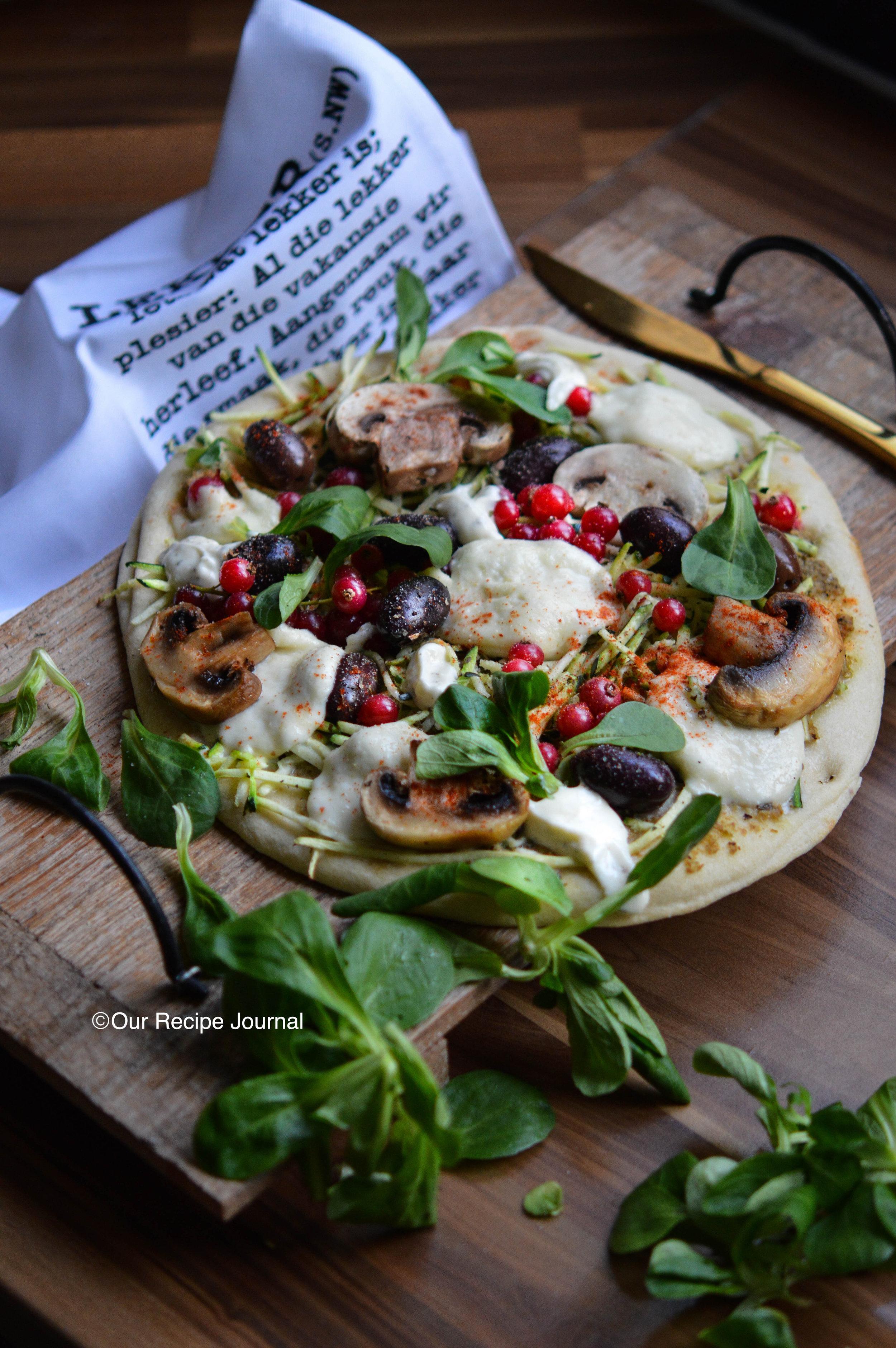 Gluten-free Vegetarian Pizza