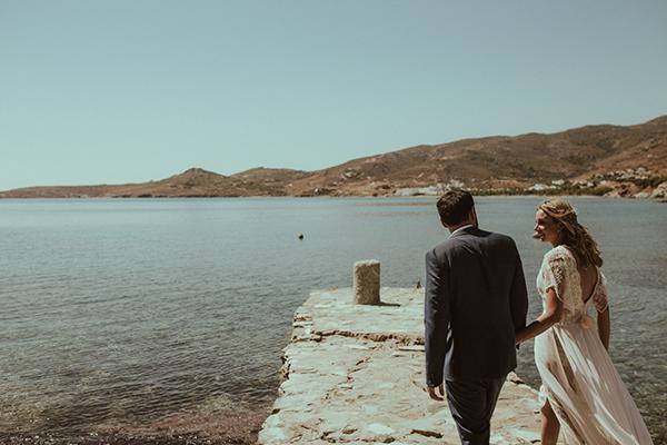 chiC & stylish - Kaunid ja unustamtud pulmad Tinose saarel.