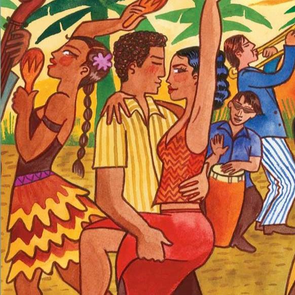 Sunny Groovy Latin Rhythms