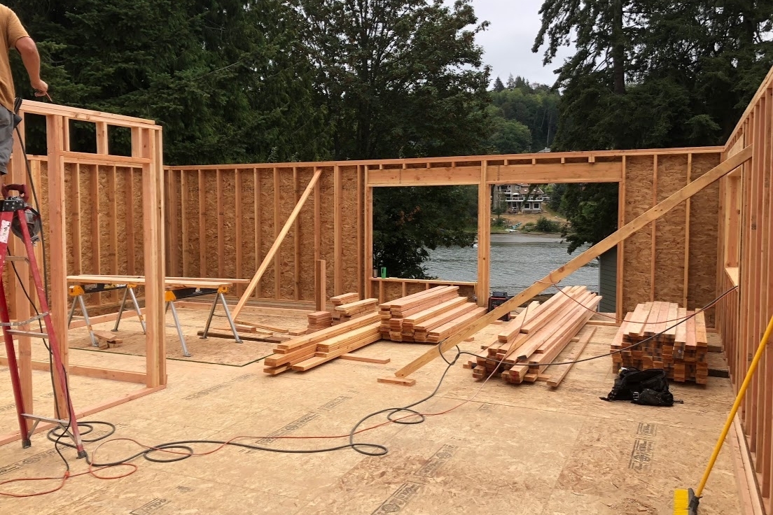 New Second Floor Framing