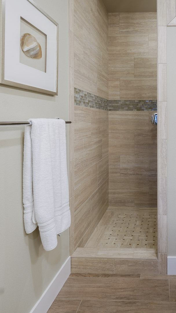 Step in Tile Shower