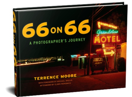 The Big Daddy of the Mother Road Terrence Moore has opened his photography vault of almost 50 years of work! - CLICK HERE TO PURCHASE