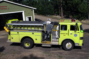 4303   Type 1 – Attack Engine   500 gallon capacity 1,250 gpm pump rating