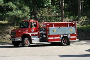 4343   Water Tender   2,000 gallon capacity 1,250 gpm pump rating