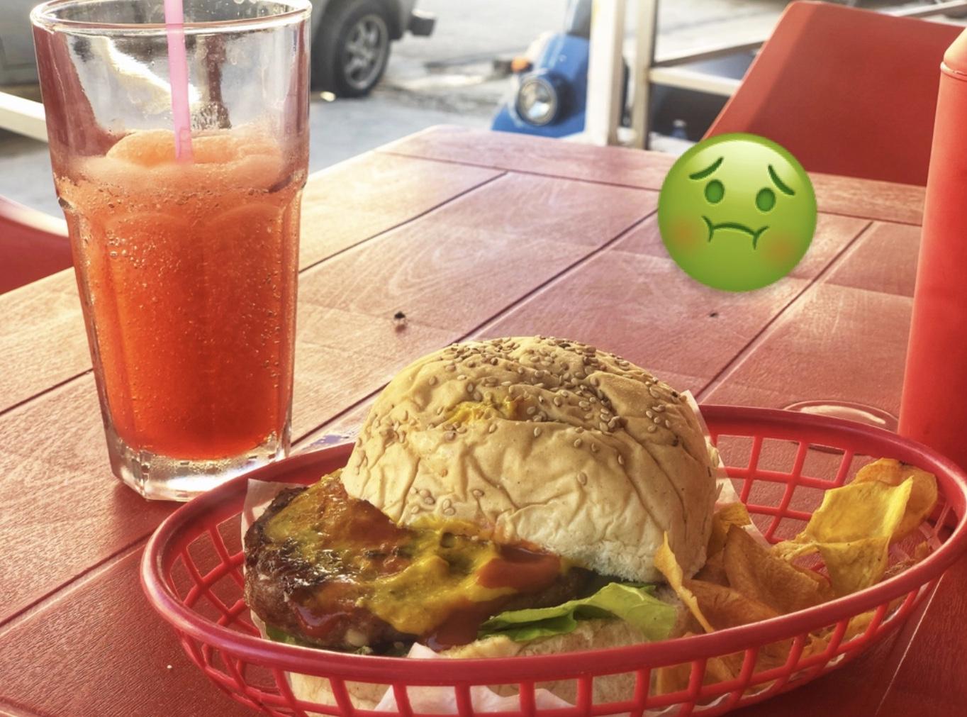 Hamburguesa en Súper Burger