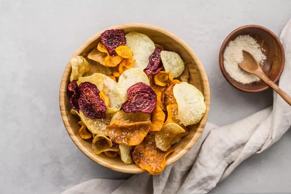 Veggie/fruit chips - Bake with love