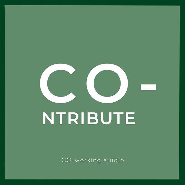 ✨✨ • • • #coworkingridgewood #coworkingstudio #bushridge #contribute #coworkingnyc #wordoftheday📖 #togetherisbetter