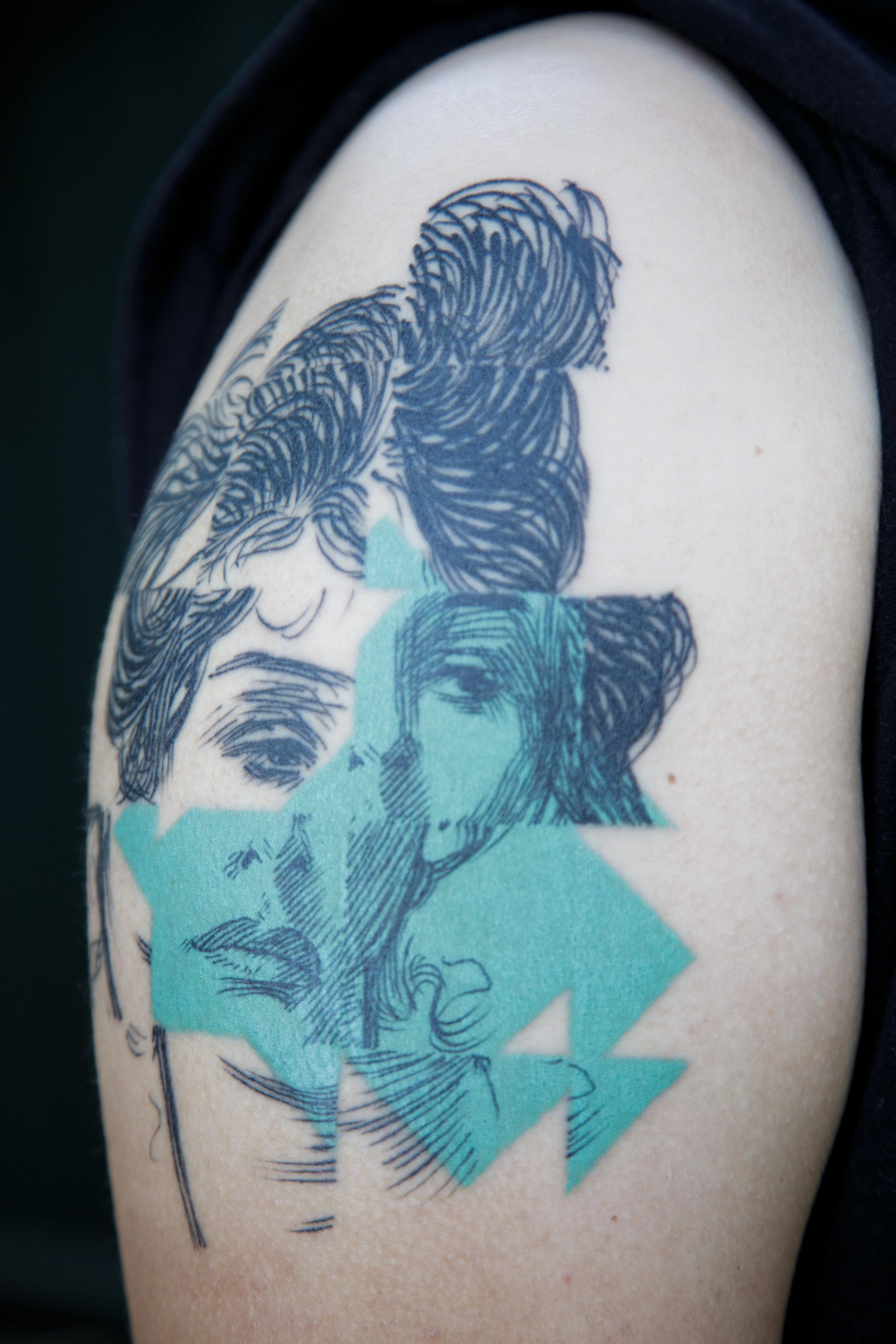 Tatuagem; 25x20 cm, 2017