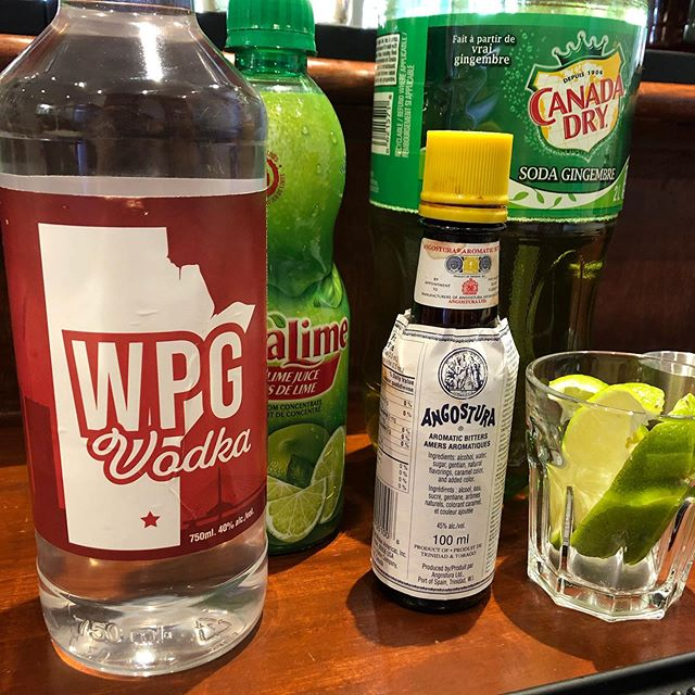 If you'd like the recipe for the Manitoba Mule that we made on The @global_winnipeg Morning Show this am, visit our website (link in bio!). . #Winnipeg #Vodka #Local #Wpg #WpgNow #MB #Manitoba #BuyLocal #Bartender #Winter #GrainVodka #MadeInCanada #CanadianMade #Restaurant