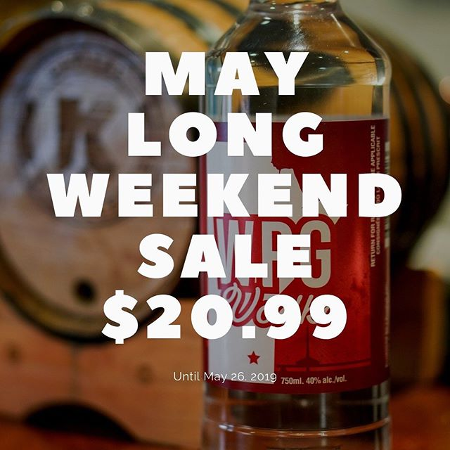 Don't forget, WPG Vodka is only $20.99 for a 750ml bottle until May 26!  This ultra premium, made in Manitoba vodka is the perfect way to kick off May long weekend!  #Winnipeg #Vodka #Local #Wpg #WpgNow #MB #Manitoba #BuyLocal #Bartender #Cocktail #Snow #Winter #GrainVodka #MadeInCanada #CanadianMade #Restaurant #MayLongWeekend #VictoriaDay #Sale #LiquorMart #CheapVodka