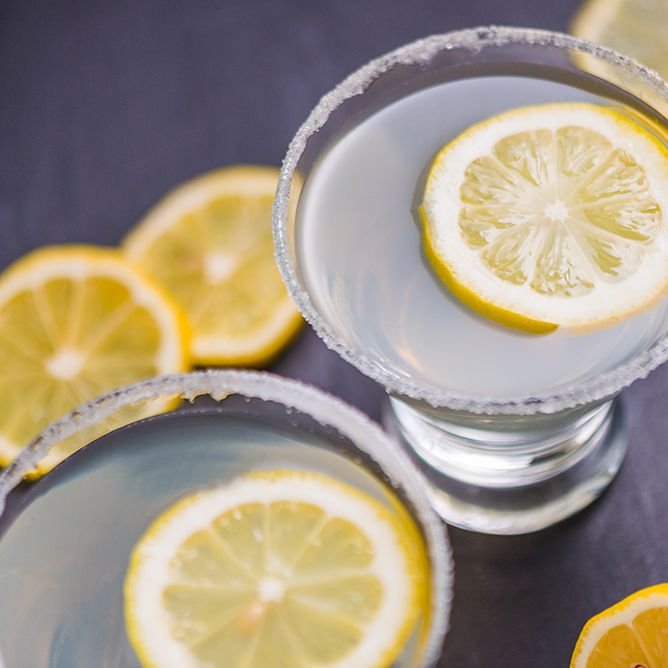 WPG Lemon Drop - 1.5 oz WPG Vodka.5 oz Triple Sec.5 oz Lemon juice1 tbsp White sugarZest of 1/2 Lemon Mix sugar and lime zest and set aside. Pour WPG vodka into a cocktail shaker with the Triple sec, lemon juice, and a handful of ice. Shake until the shaker is cold. Dip the rim of a chilled martini glass in water, shake off excess, and dip into the sugar and zest mix. Strain the contents of the shaker into the glass and enjoy!