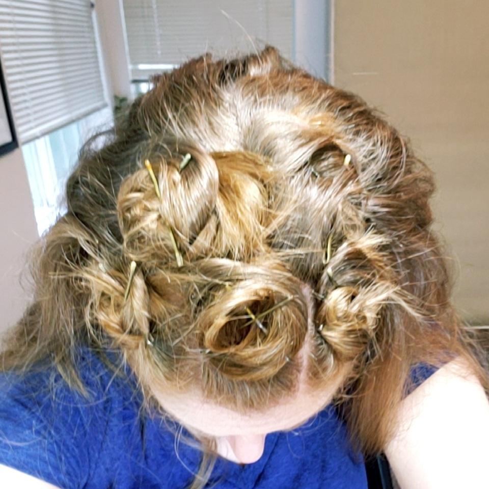Top Pin Curls