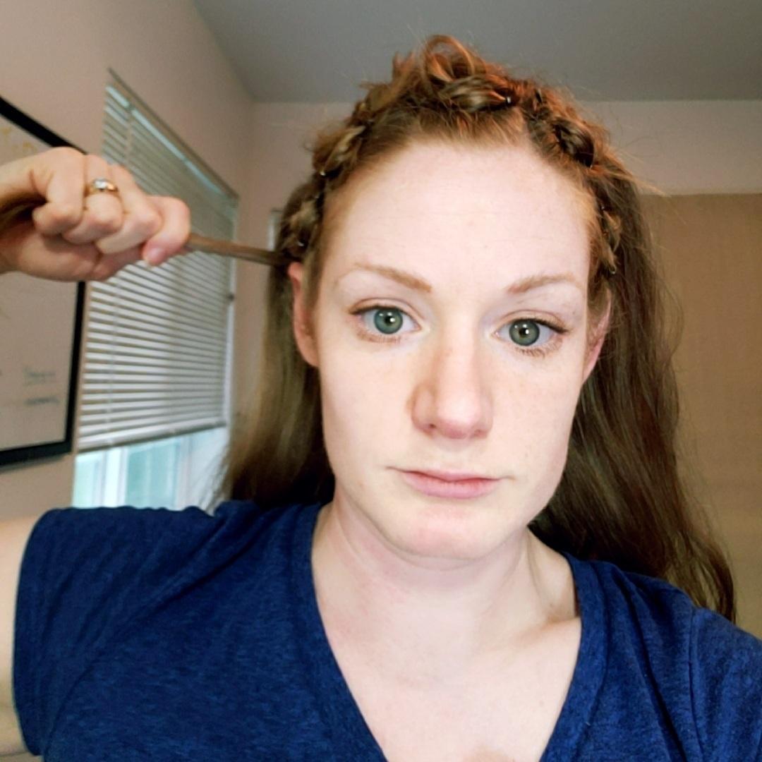 Bringing The Hair Under