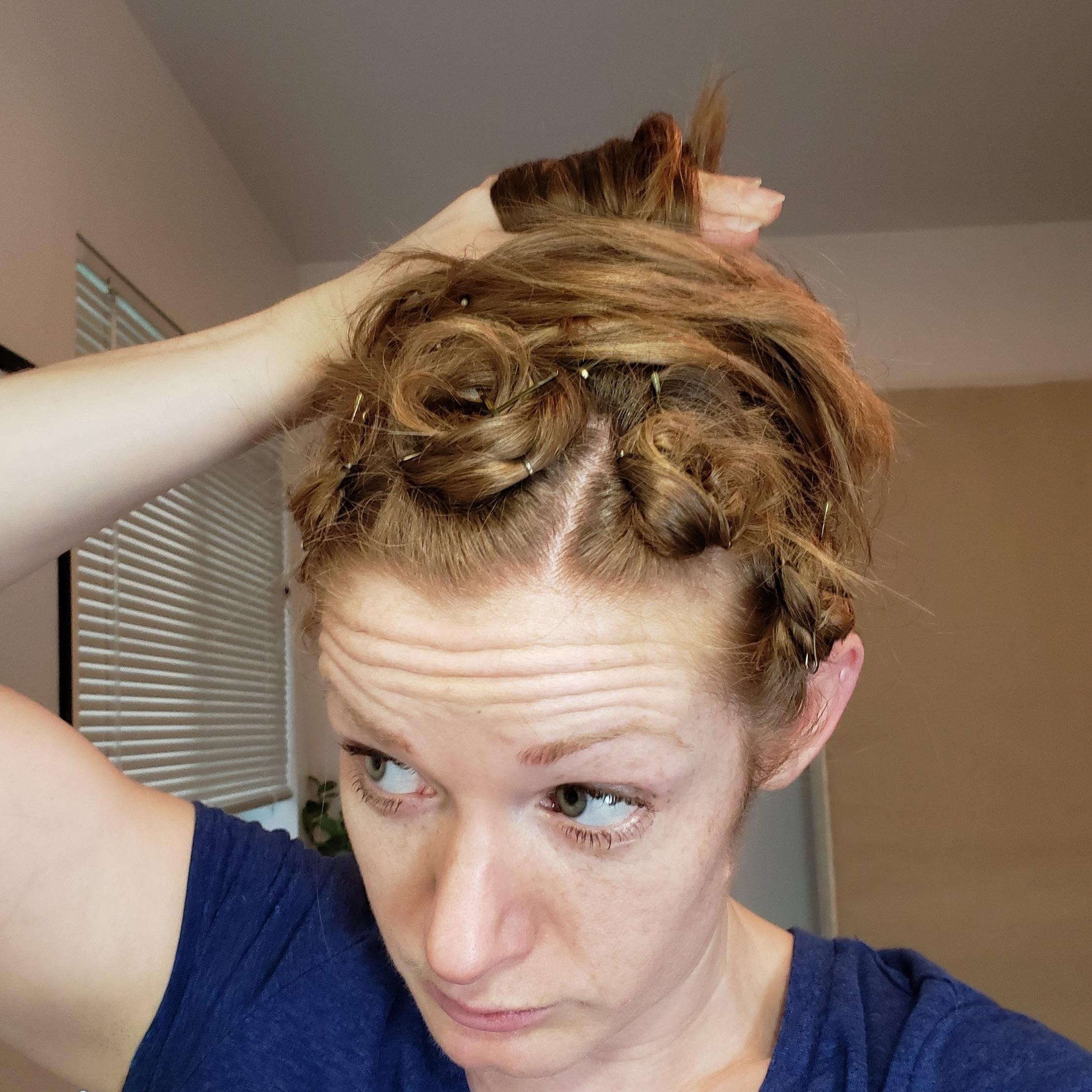Big Pin Curl