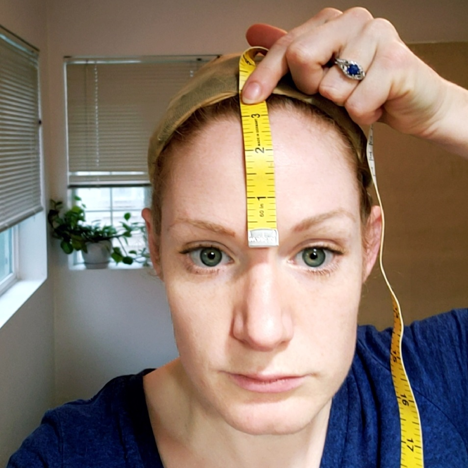 H Bridge to Center Front Hairline