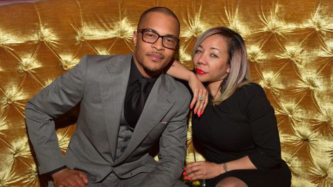 17. T.I. - Age: 38Wife: Tameka Cottle, 43Age Difference: 5 yearsYears Together: 13Kids: 3