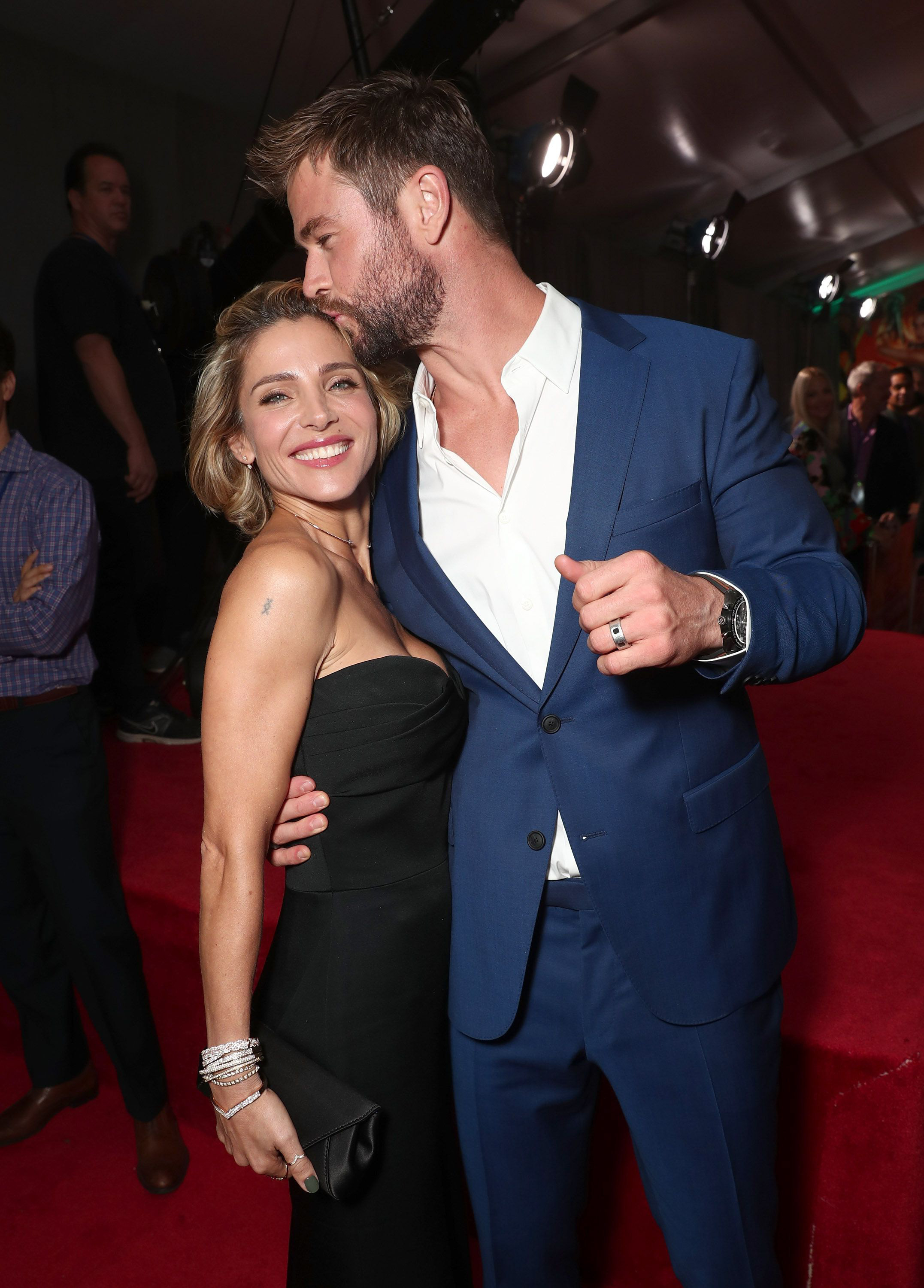 12.Chris Hemsworth - Age: 35Wife: Elsa Pataky, 43Age Difference: 8 yearsYears Together: 9Kids: 3