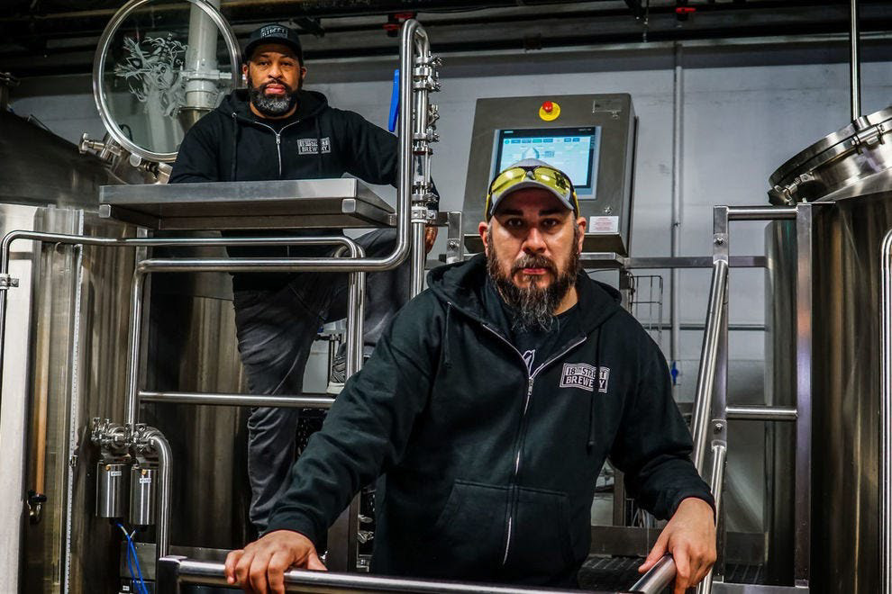 Photo courtesy of © 2019 18th Street Brewery