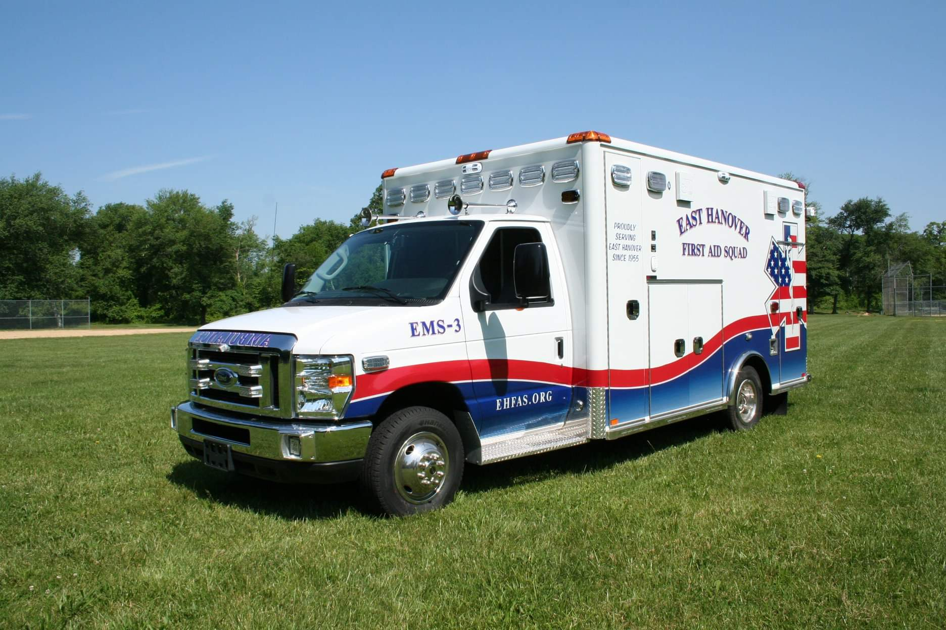Where your Donations Go - Through the generous donations of members of our community, we are able to purchase necessary equipment that allows us to best serve our town. We recently invested in a new ambulance, as seen to the left, with new technologies that enhance our patient care.
