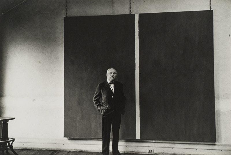 Alexander Liberman   Portrait of Barnett Newman   ca. 1961  The Menil Collection