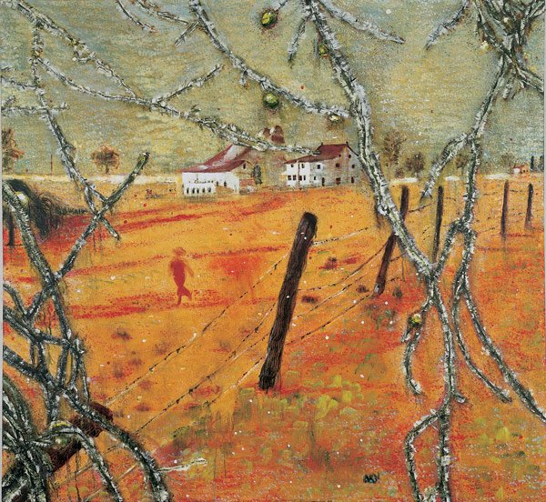 Peter Doig   Young Bean Farmer  1991  Oil on canvas