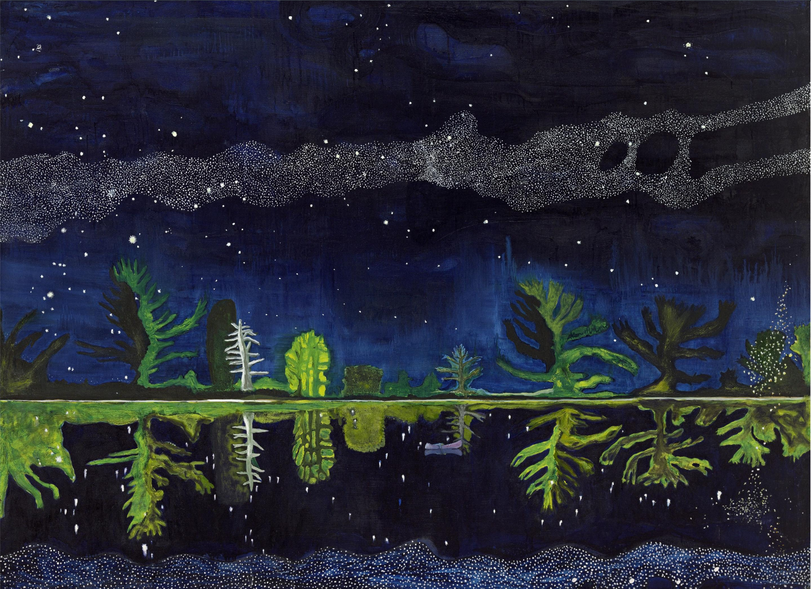 Peter Doig   Milky Way  1990