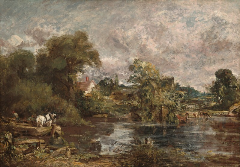 The White Horse,  1818-1819  John Constable  oil on canvas  127 x 183 cm (50 x 72 1/16 in.)