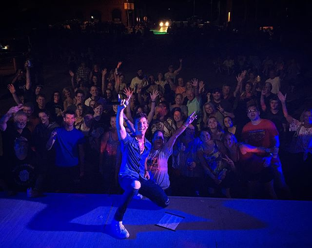 CASEY IOWA!! This crowd gets bigger every year🔥🔥 LOVE YOU!!