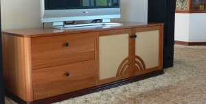 High on Function and Style this Art Deco inspired Entertainment Unit is a classic style statement