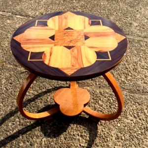 How amazing does this very funky art deco table look now