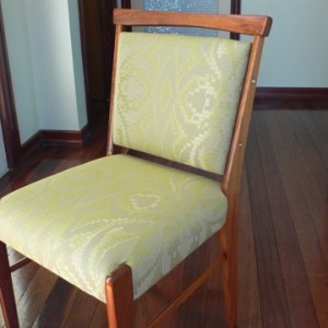 Subtle cream colours give a sophisticated lift to these elegant chairs