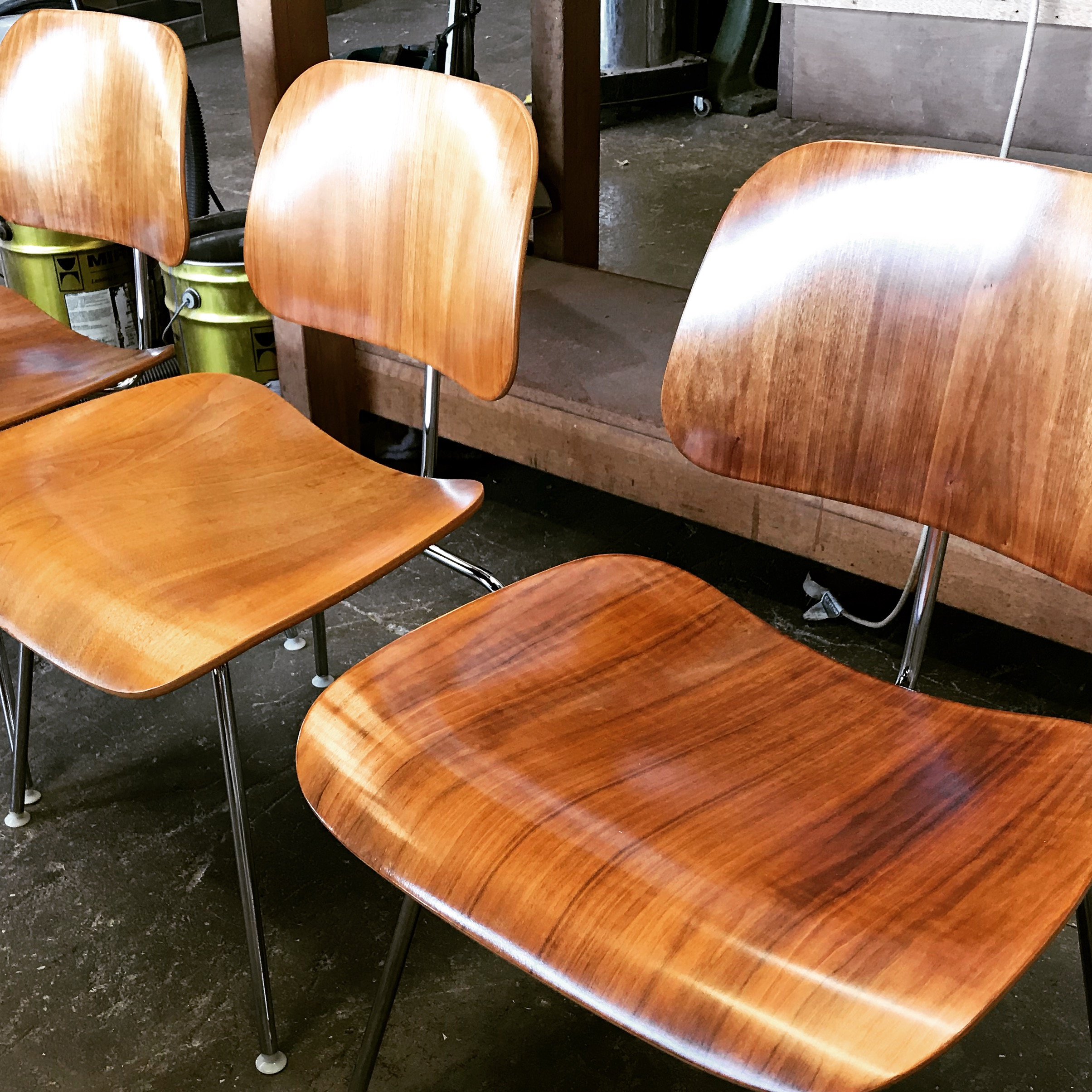 Restoration of Herman Miller Dining chairs