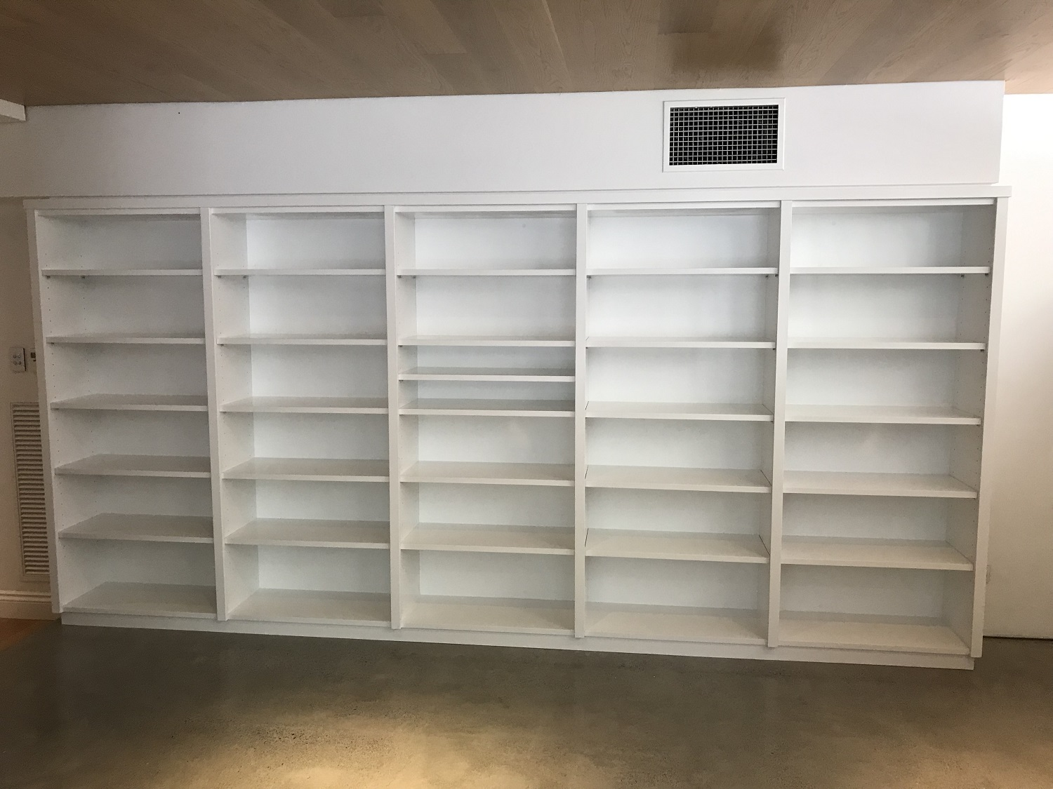 Ample space for lots of wonderful books