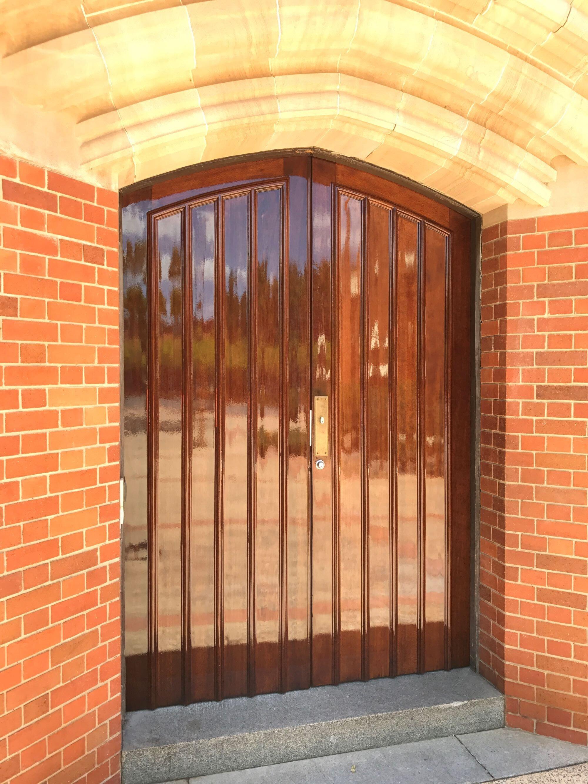 repolish churchie door.JPG