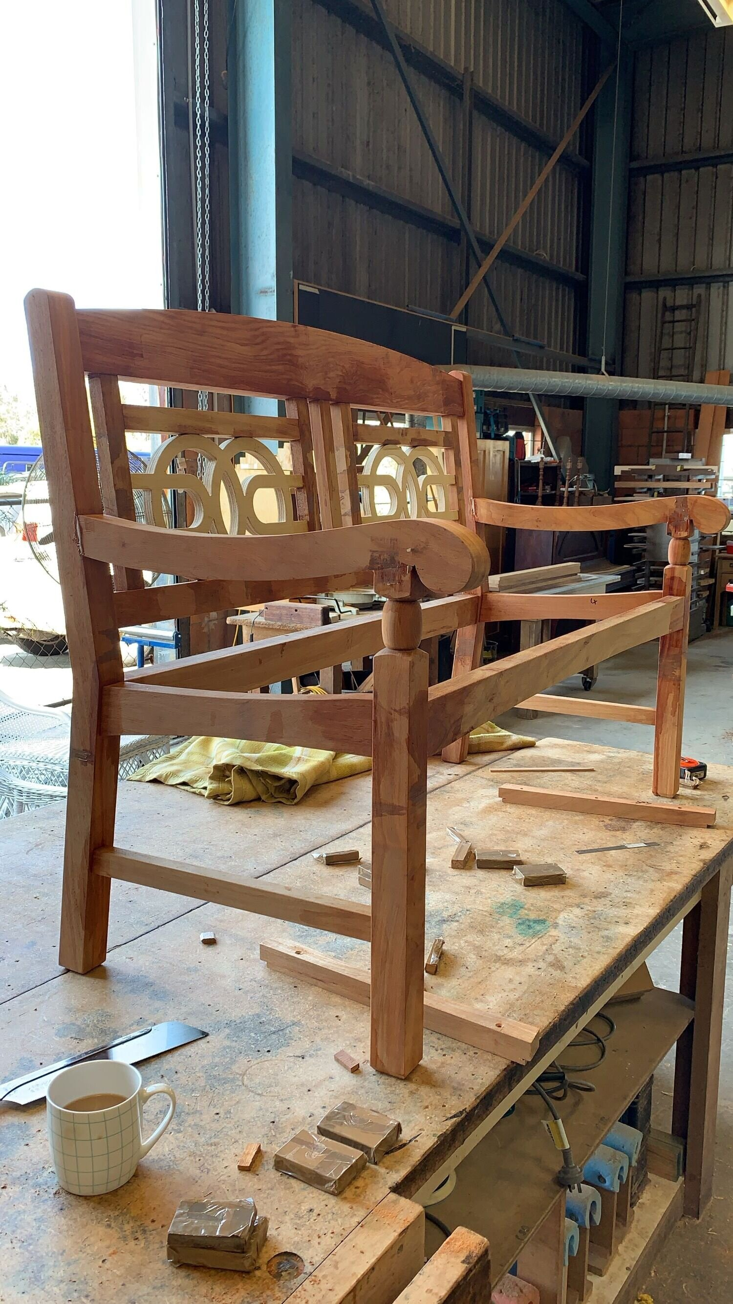 furniture construction at the bywater design workshop