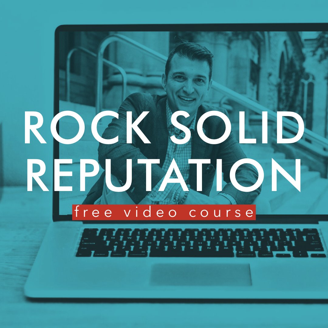 Get Rory's  Rock Solid Reputation Course  for FREE when you sign up to receive his blog updates via email.