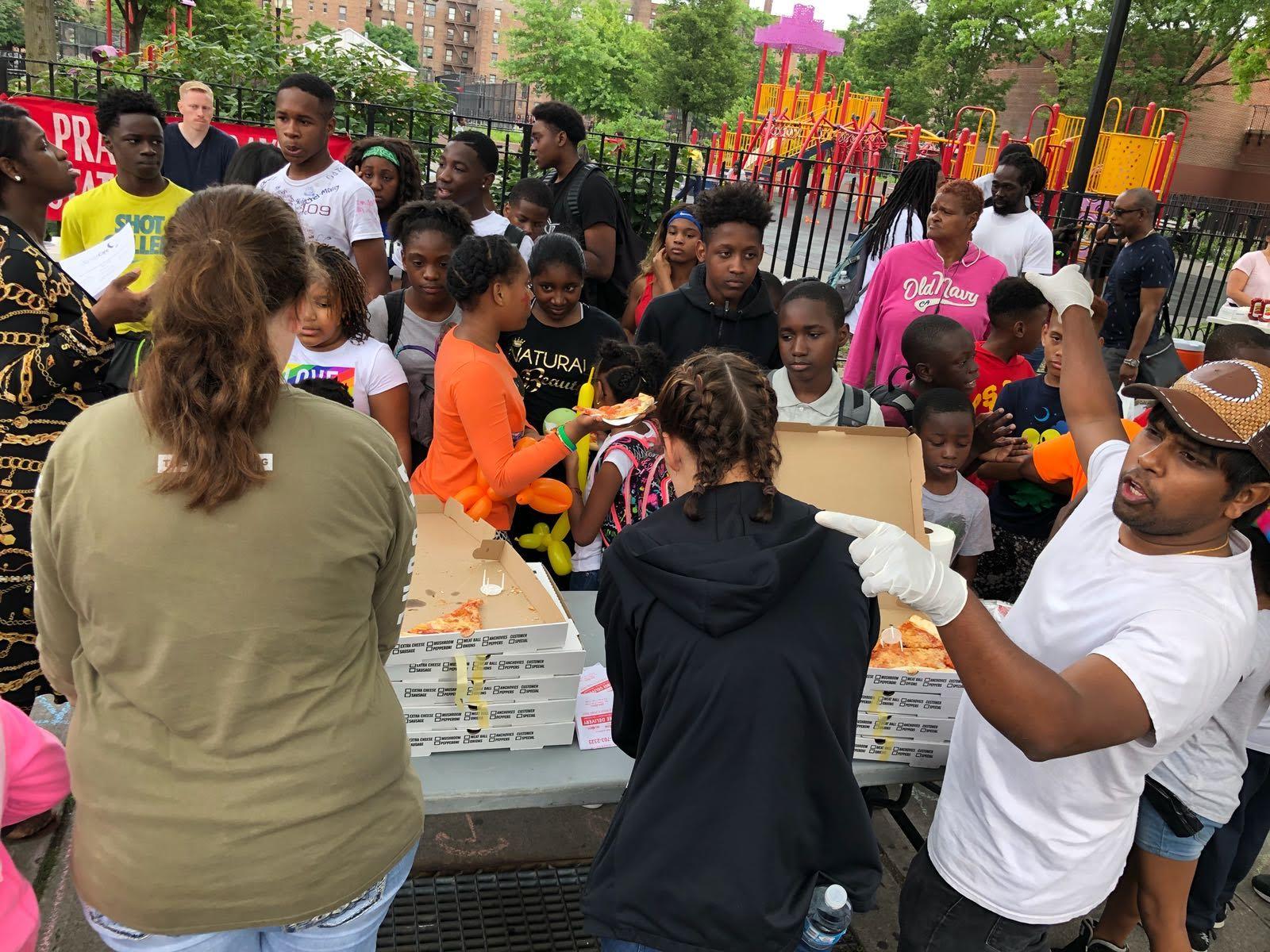 Street Evangelism in Brooklyn