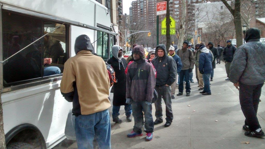 Serving NYC's homeless.