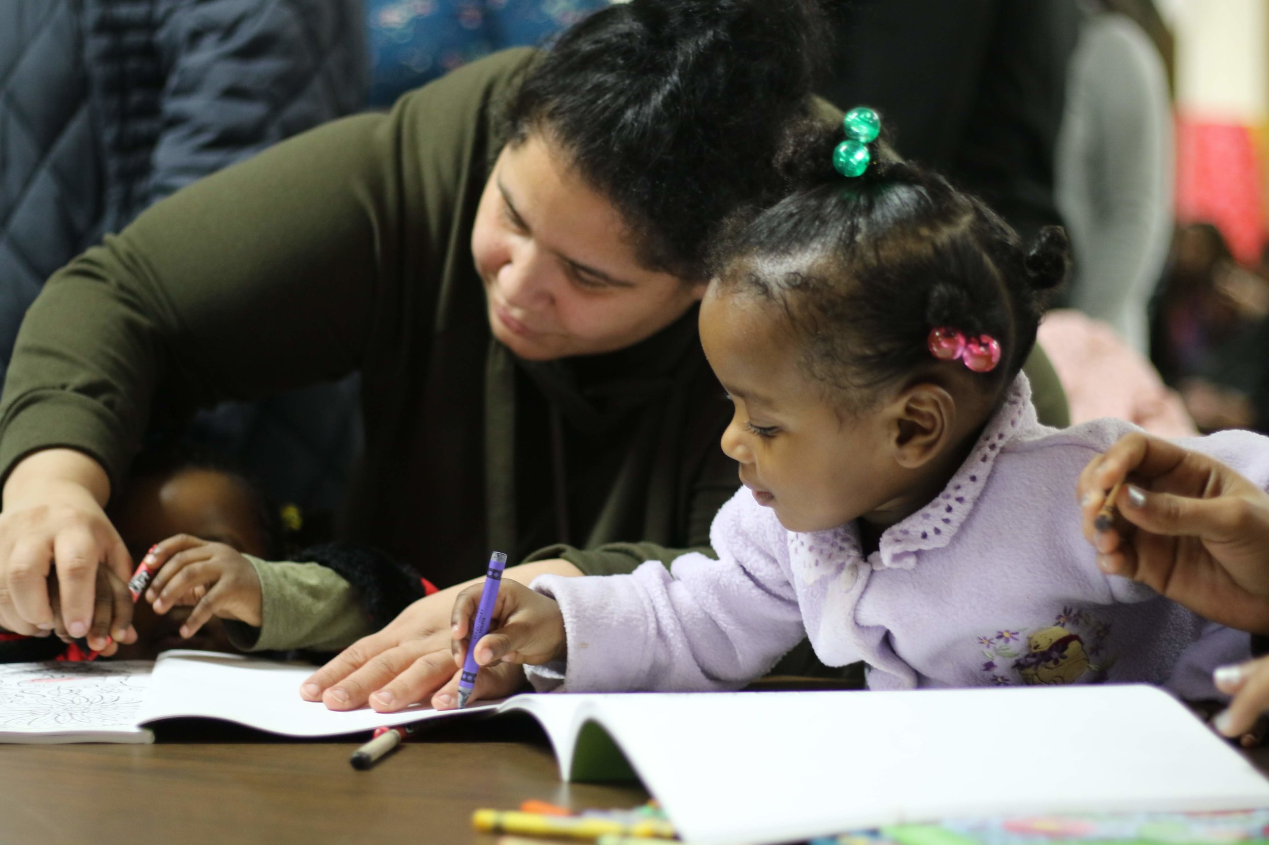 Reaching children in NYC shelters.