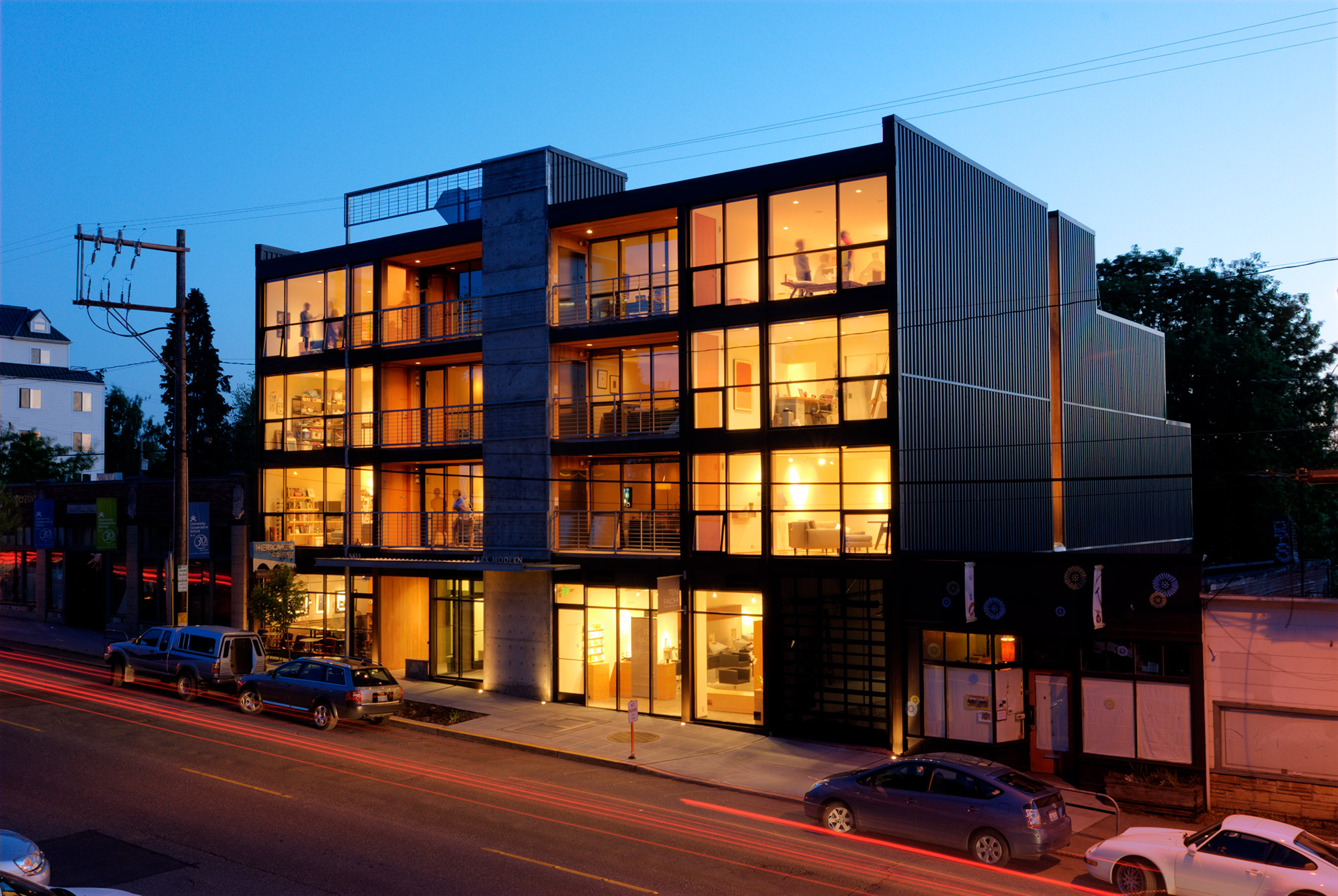 The Park Modern Building by BUILD LLC