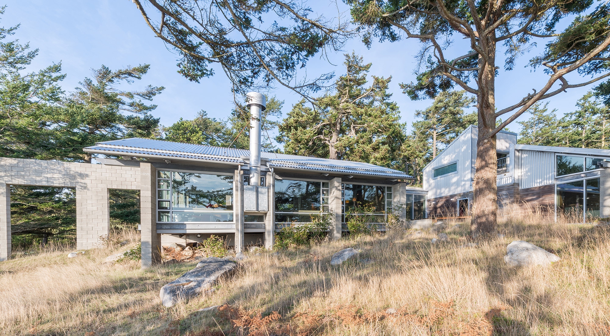 Lopez Island Residence by Walker Architects