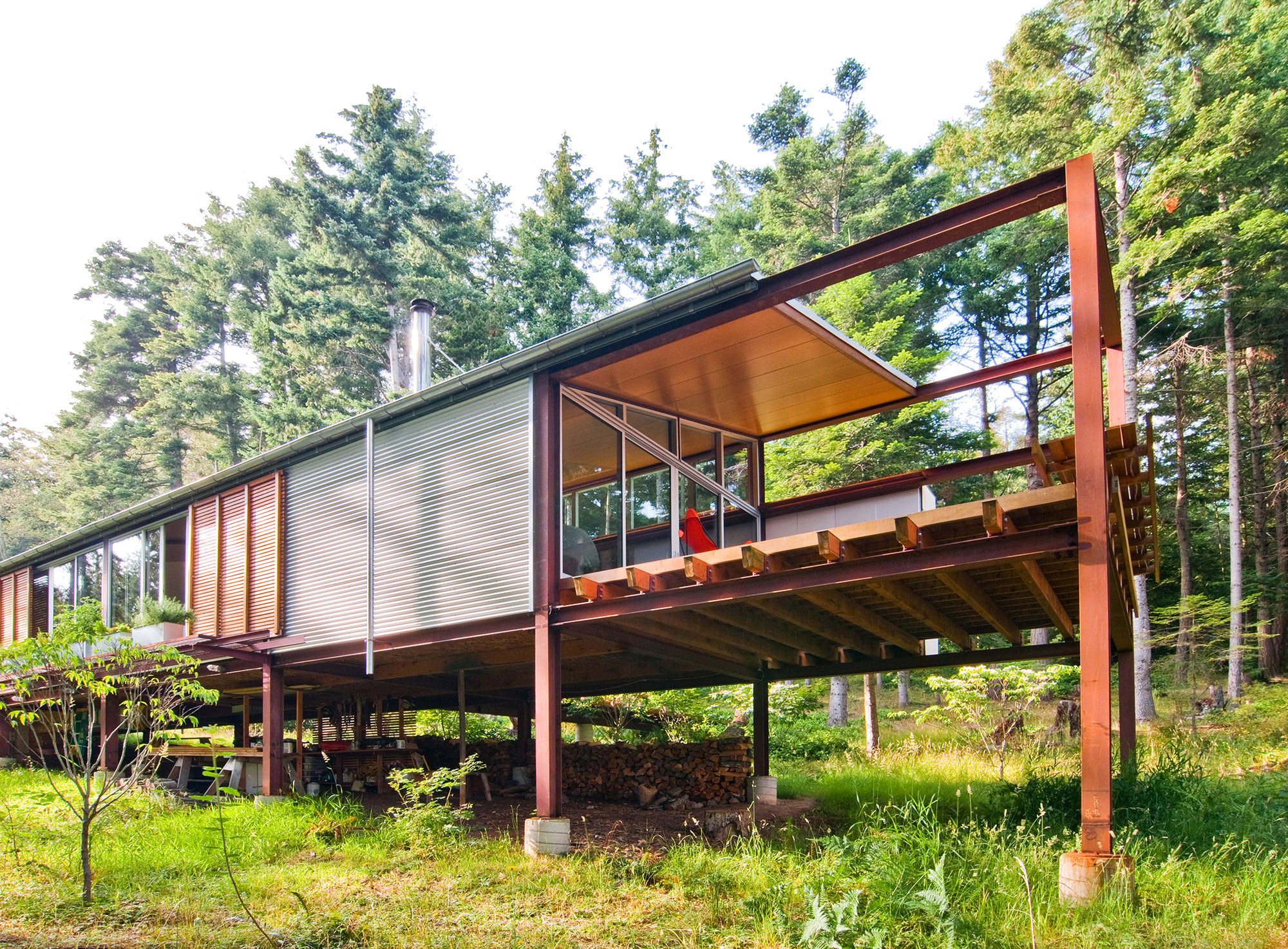 Orcas Island Cabin by Gordon Walker