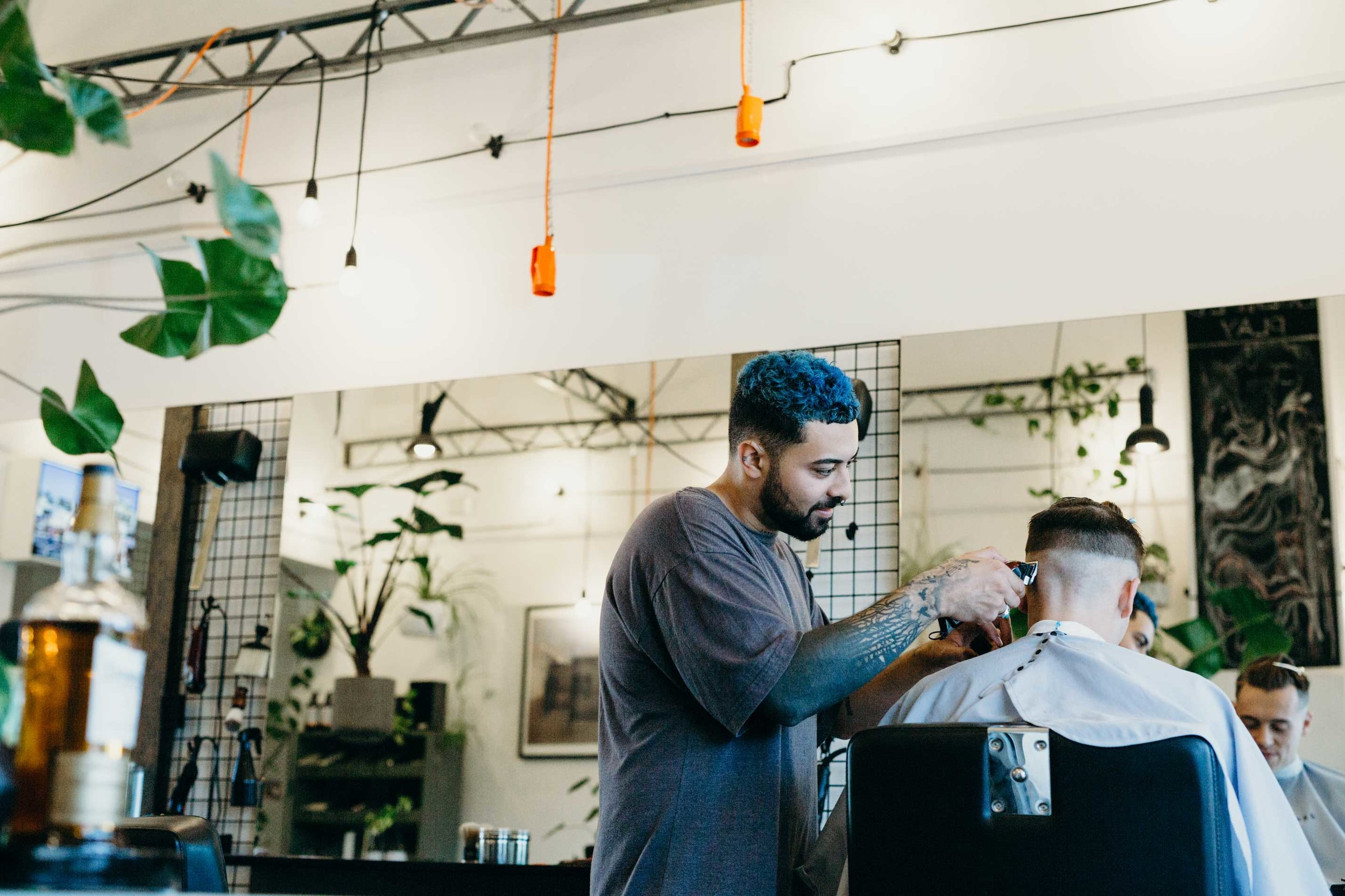 Stay sharp – Young Turks Barbers.