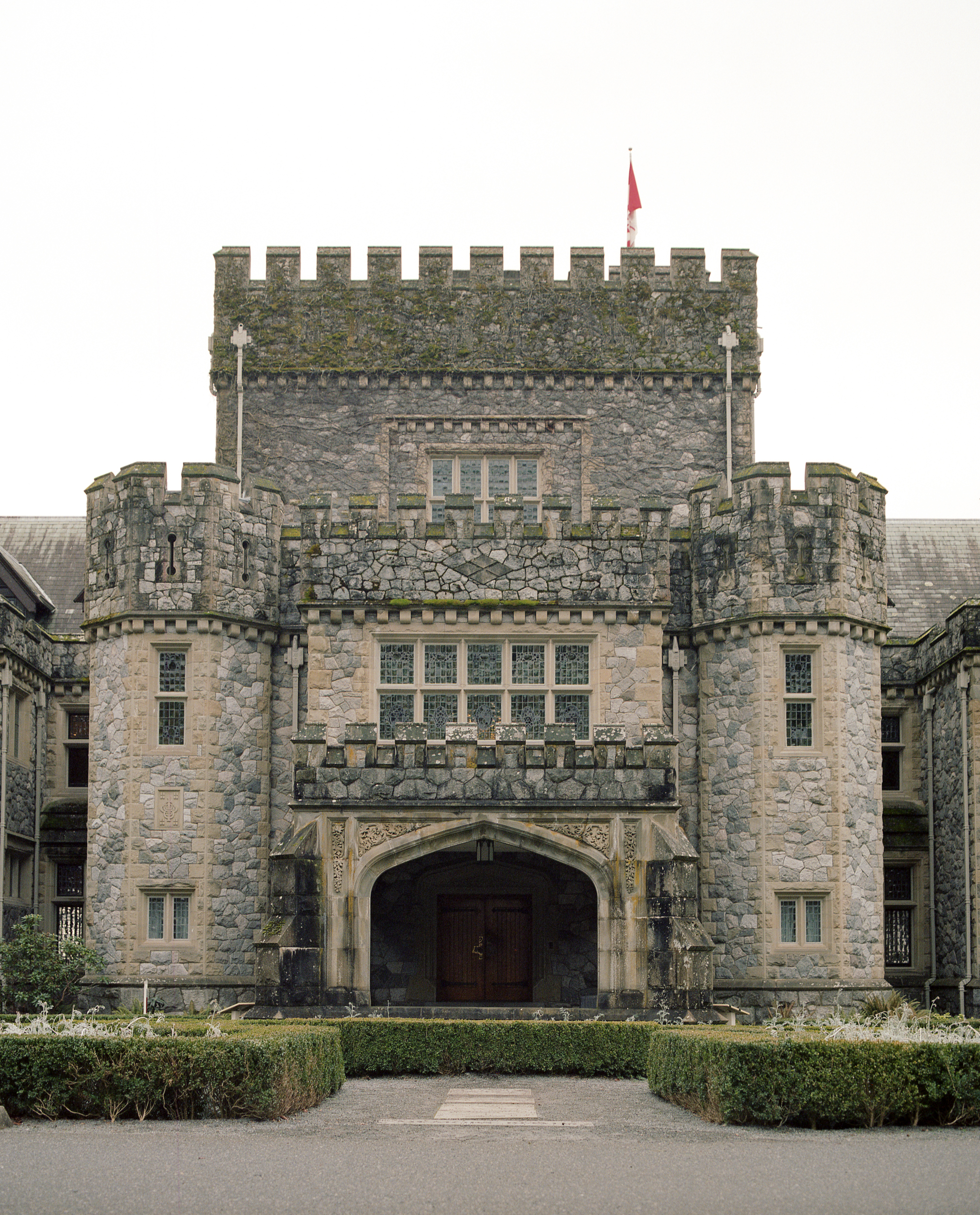 Hatley Castle on Kodak Ektar 100