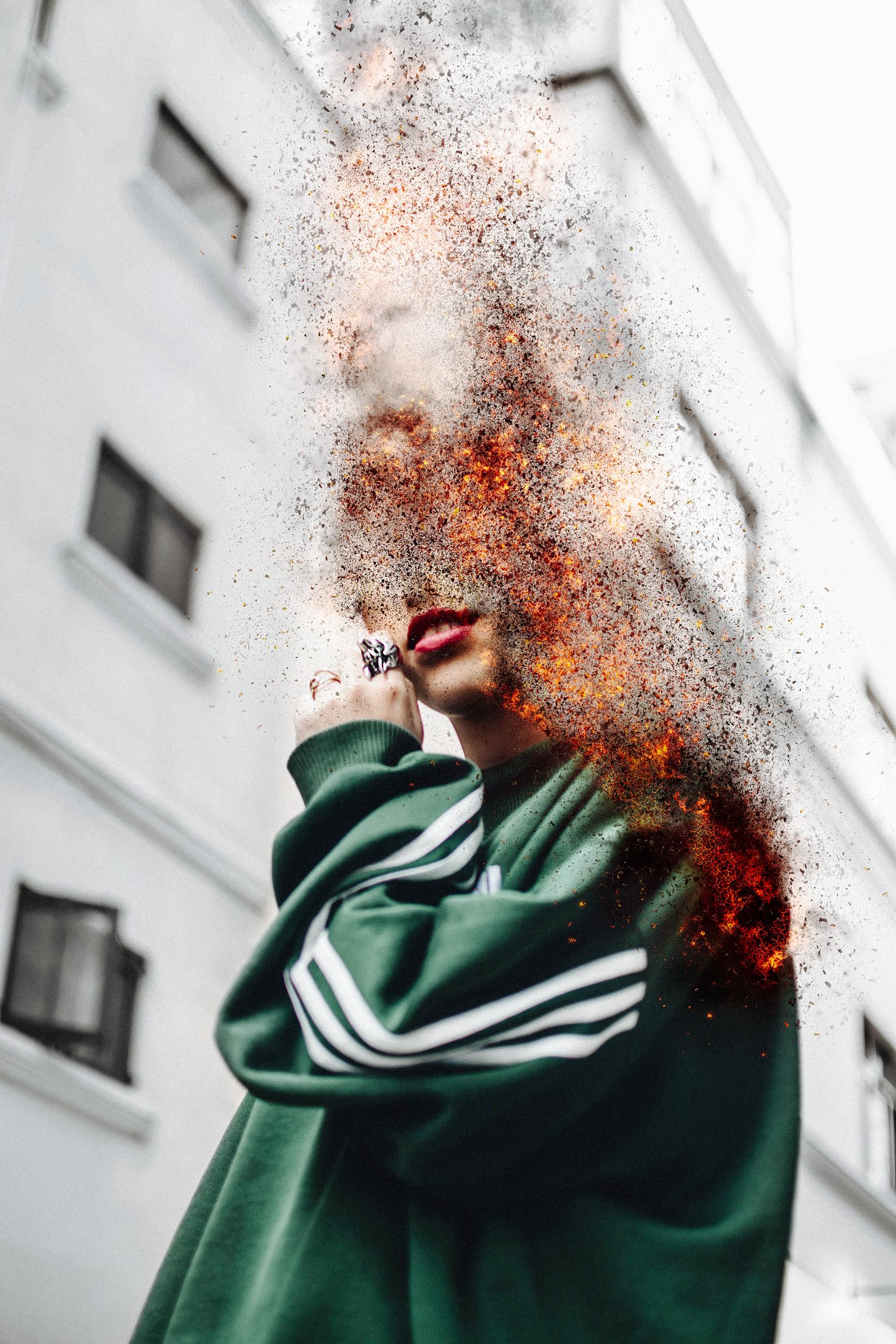 combustible - portrait