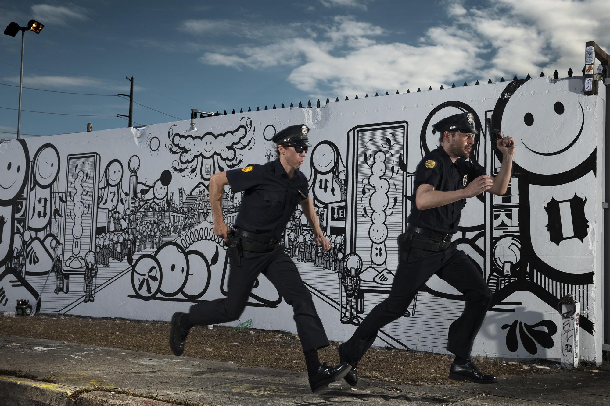 Copie de THE LONDON POLICE