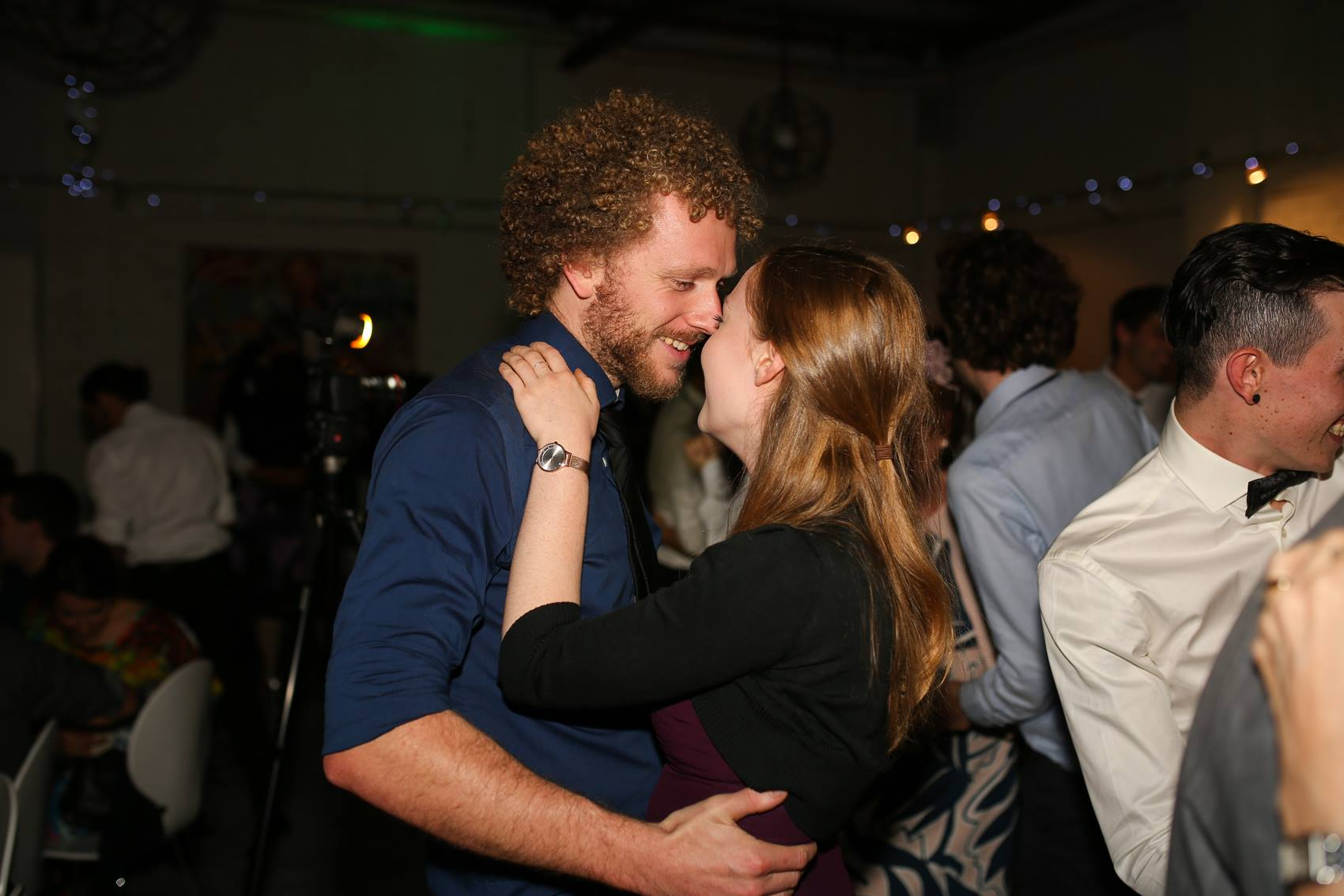 Zooey: Finally dragged Charlie onto the dance floor! Love having a good boogie with this man (despite how unco we can both be at times!)