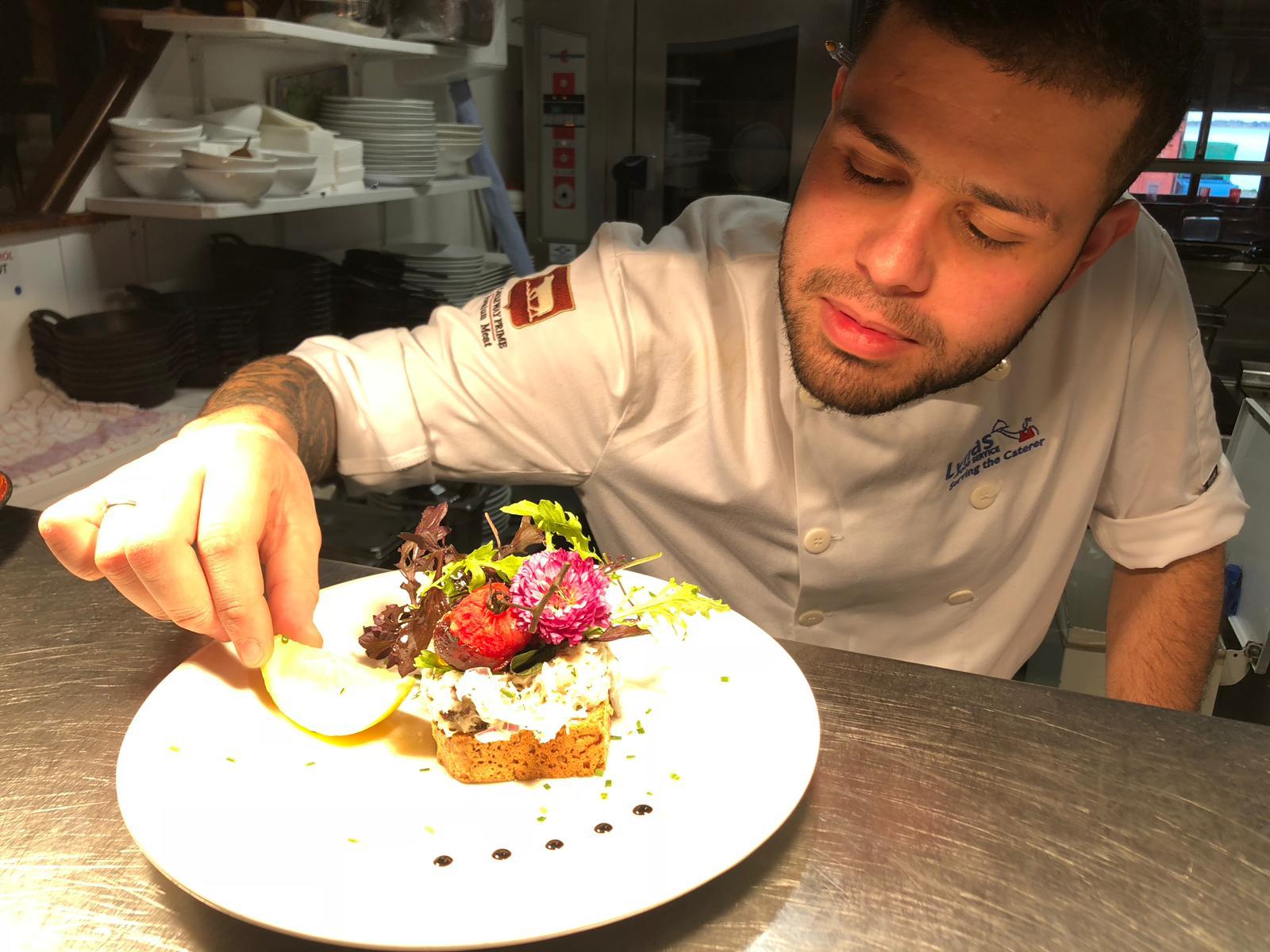 chef at oar house dublin