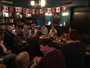 Irish trad music in Howth
